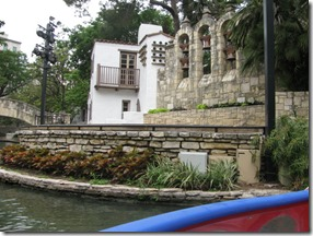 Arneson River stabe,across river from seats